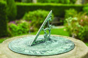 Chirk castle sundial