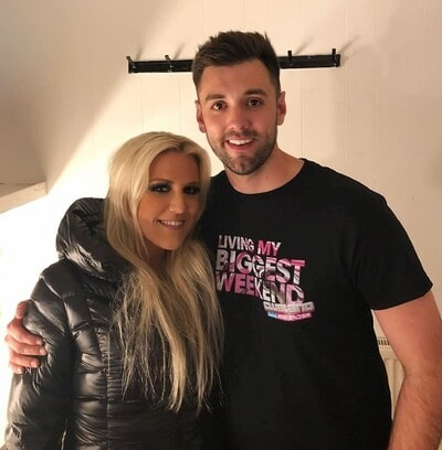 Ryan Swain with Cascada