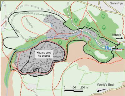 Minera map