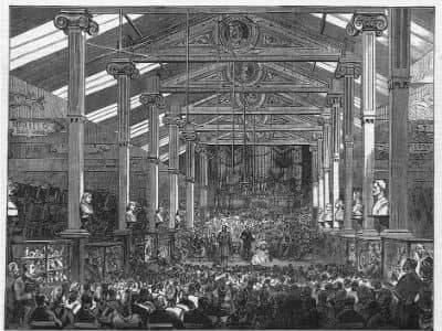 Opening of Art Exhibition 1876