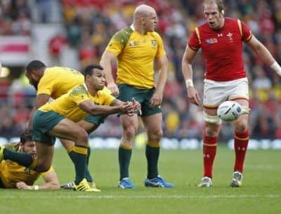 Wales' Mighty Alun Wyn Jones