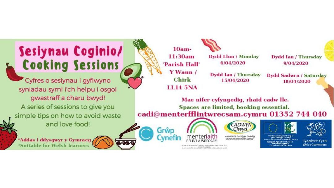 Menter Iaith Cooking Courses