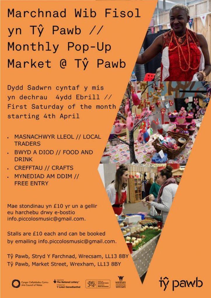 Ty Pawb Pop-Up Market