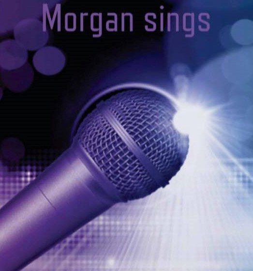 Morgan sings banner
