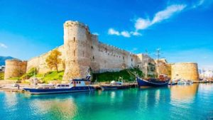 The Magnificent Kyrenia Castle in Northern Cyprus