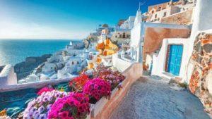 Splendid Greek View of The Mediterranean