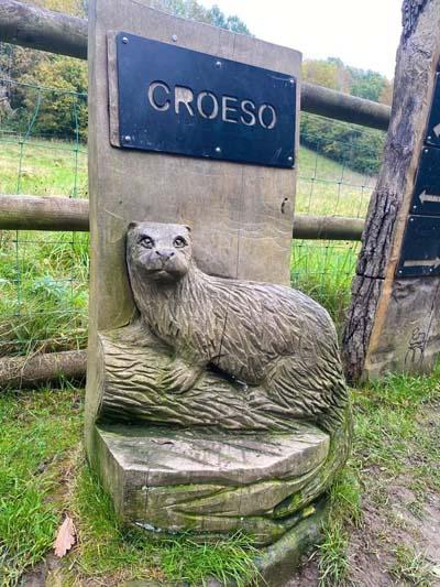 Tŷ Mawr Croeso sign