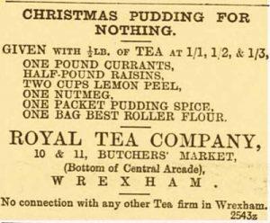 Royal Tea Company advert