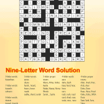Puzzle Solutions Issue 11 – May 2020