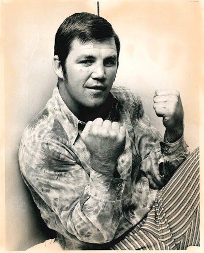 Boxer Jerry Quarry